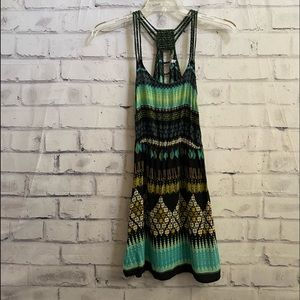 Patrons of Peace- sundress with tribal pattern